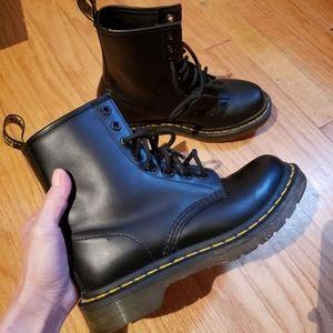 Dr. Martens 1460 Combat Boots, size 5.